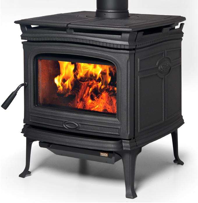 Alderlea T5 Wood Heater - Matte Black