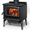 Vista wood heater on legs