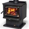Vista Wood Heater on Pedestal