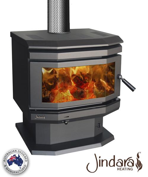 Jindara Bay Window Wood Heater