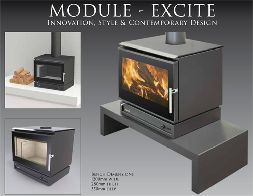 Jindara Tilga Module Wood Heater Medium Energy Hothouse