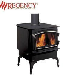 Regency Vancouver F2402 Wood Heater – Nickel Door