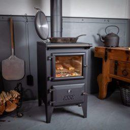 esse Bakeheart wood stove