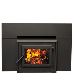 true north inbuilt wood heater